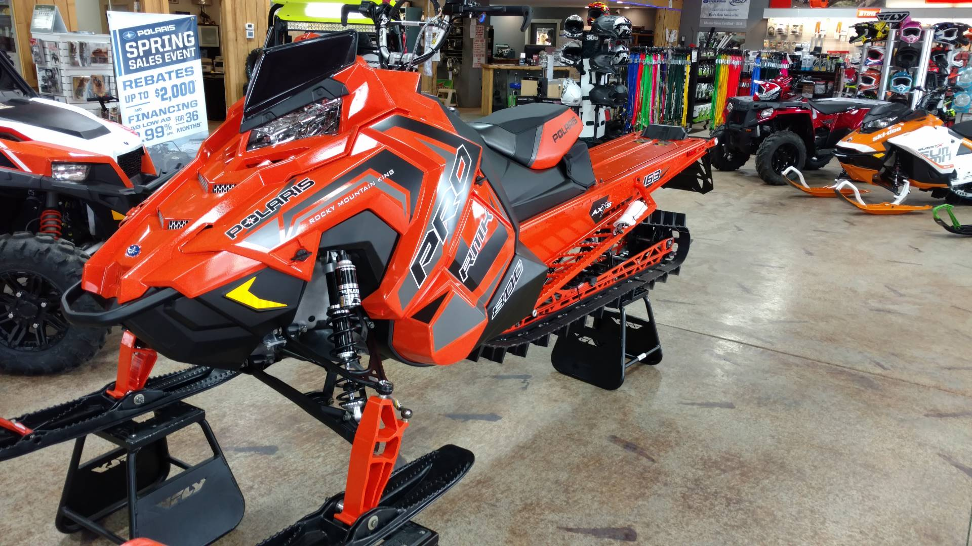 2018 Polaris 800 PRO-RMK 163 SnowCheck Select in Cottonwood, Idaho