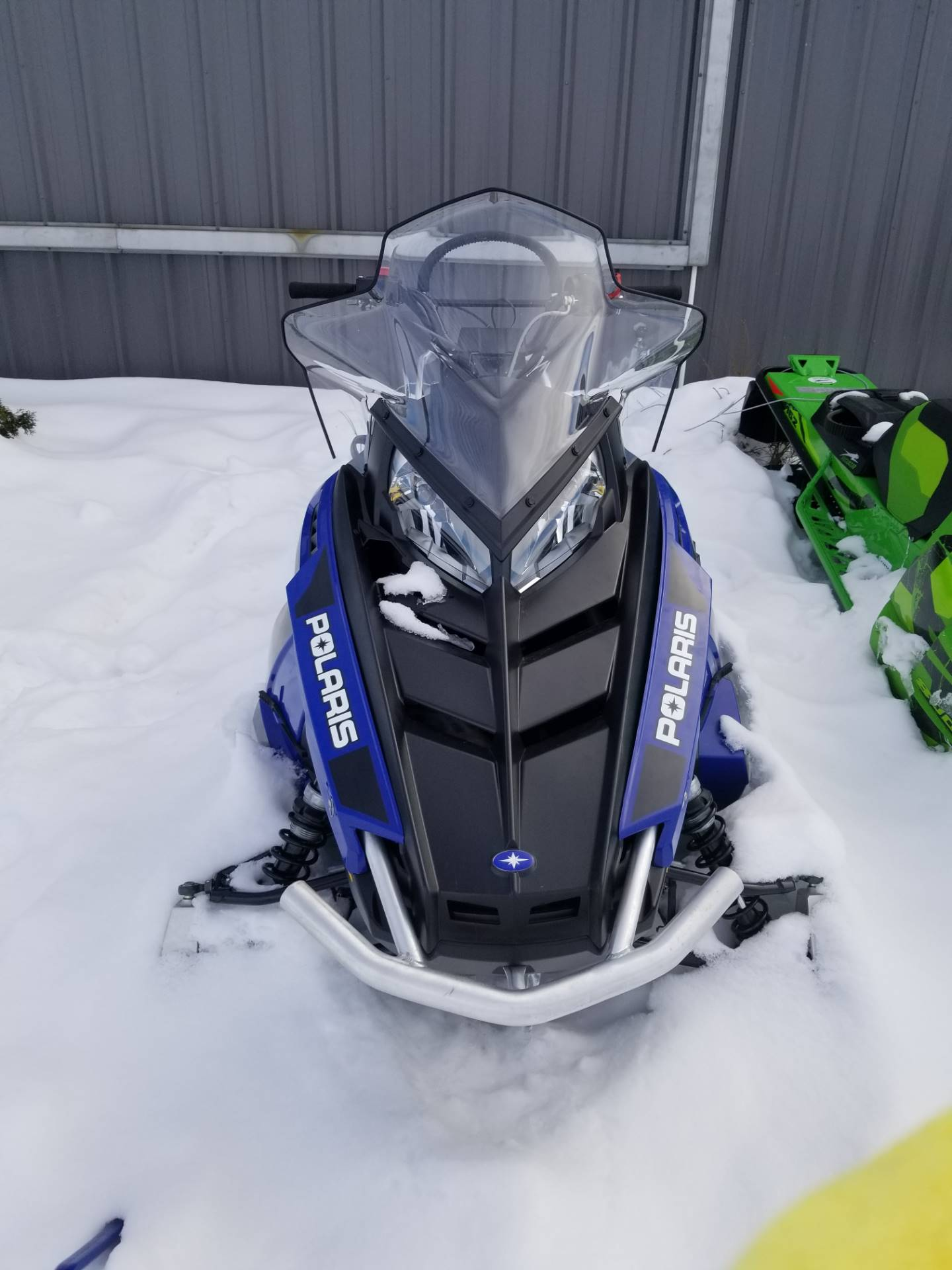 2019 Polaris 550 Voyageur 155 ES in Cottonwood, Idaho - Photo 1