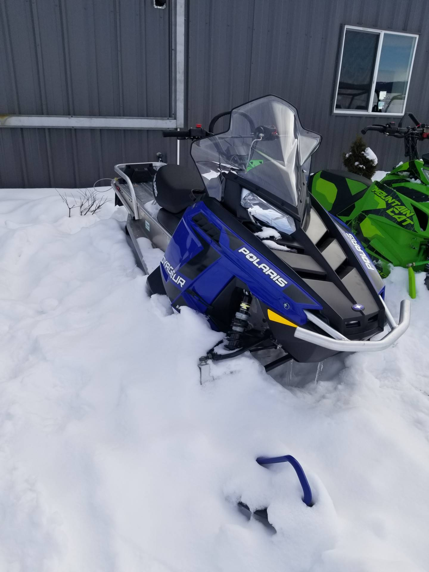 2019 Polaris 550 Voyageur 155 ES in Cottonwood, Idaho - Photo 2