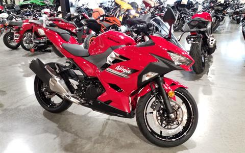 2021 Kawasaki Ninja 400 ABS in Cedar Rapids, Iowa - Photo 1