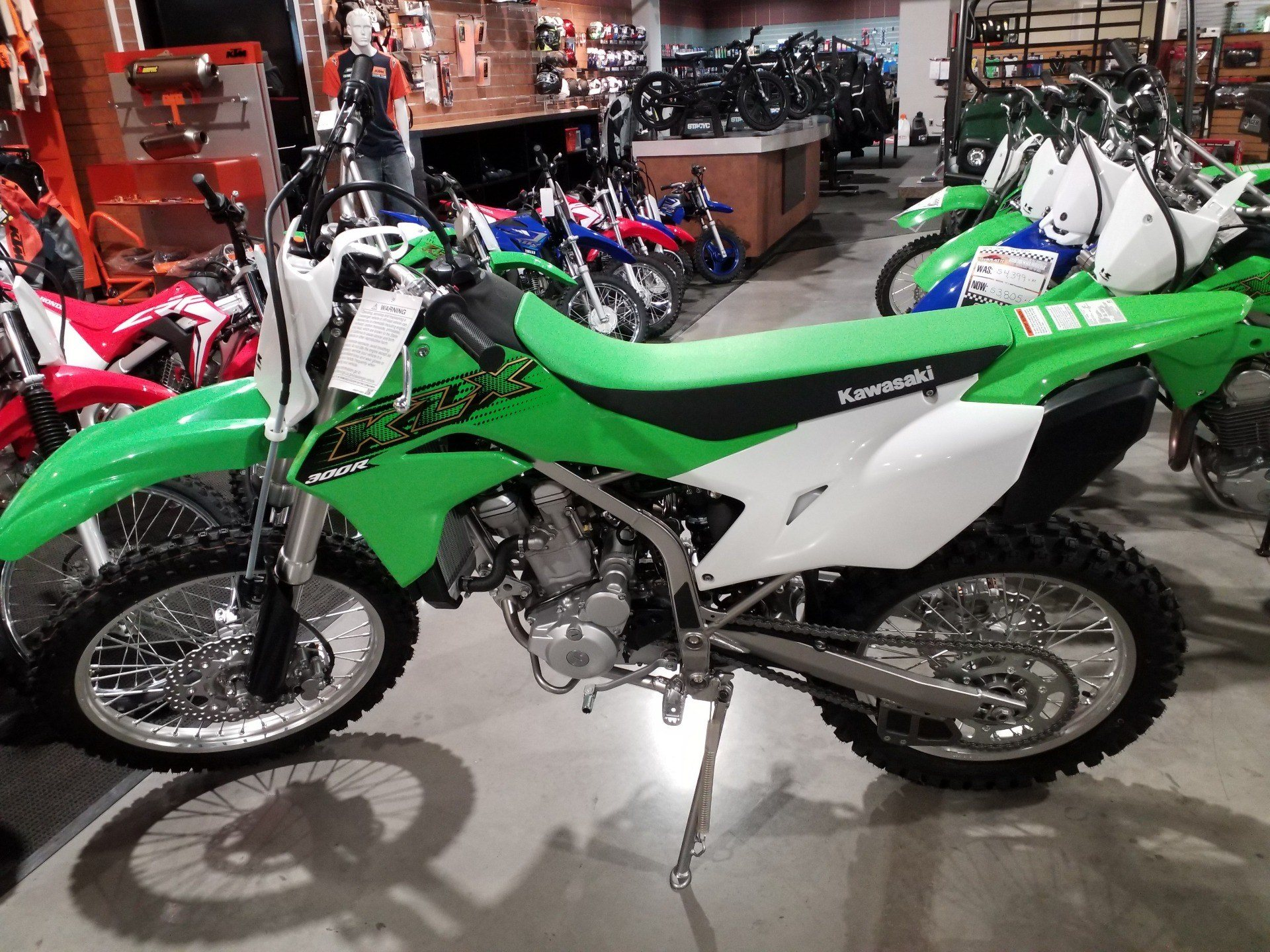 2020 Kawasaki KLX 300R in Cedar Rapids, Iowa - Photo 3