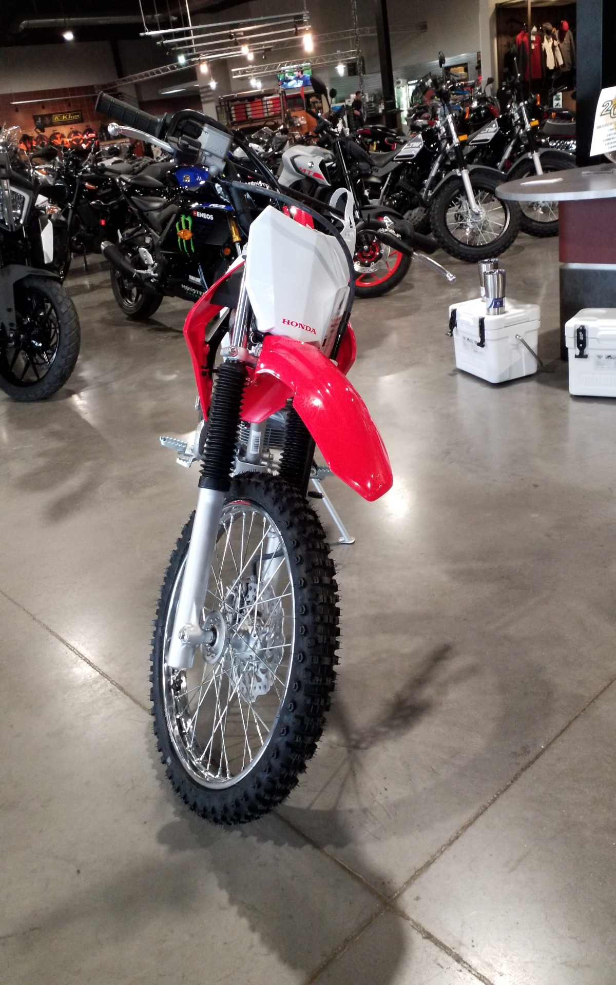 2021 Honda CRF125F (Big Wheel) in Cedar Rapids, Iowa - Photo 2