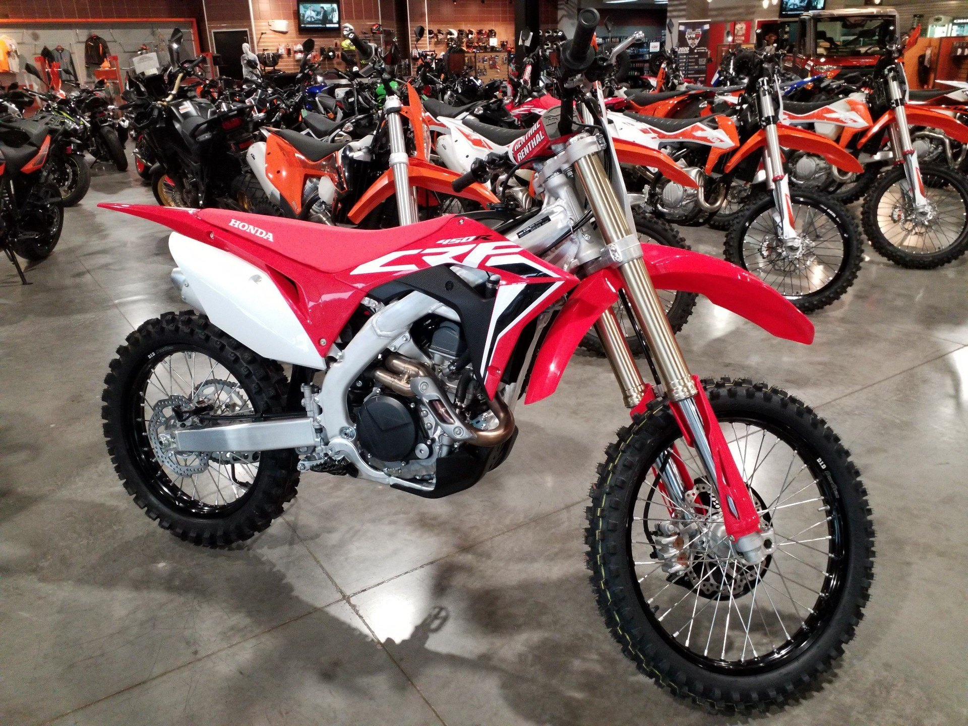 2020 Honda CRF450R in Cedar Rapids, Iowa - Photo 1