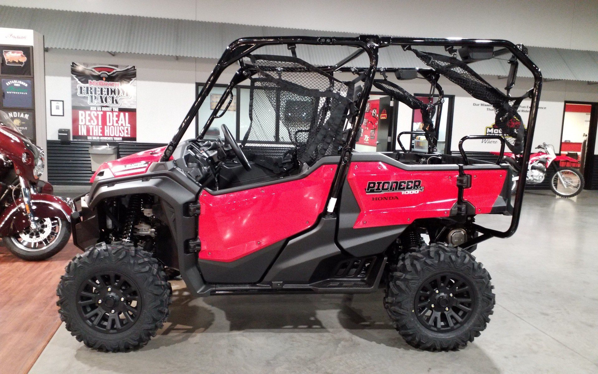 2021 Honda Pioneer 1000-5 Deluxe in Cedar Rapids, Iowa - Photo 1