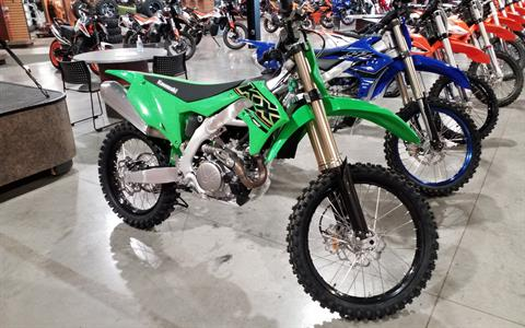 2021 Kawasaki KX 450 in Cedar Rapids, Iowa - Photo 1