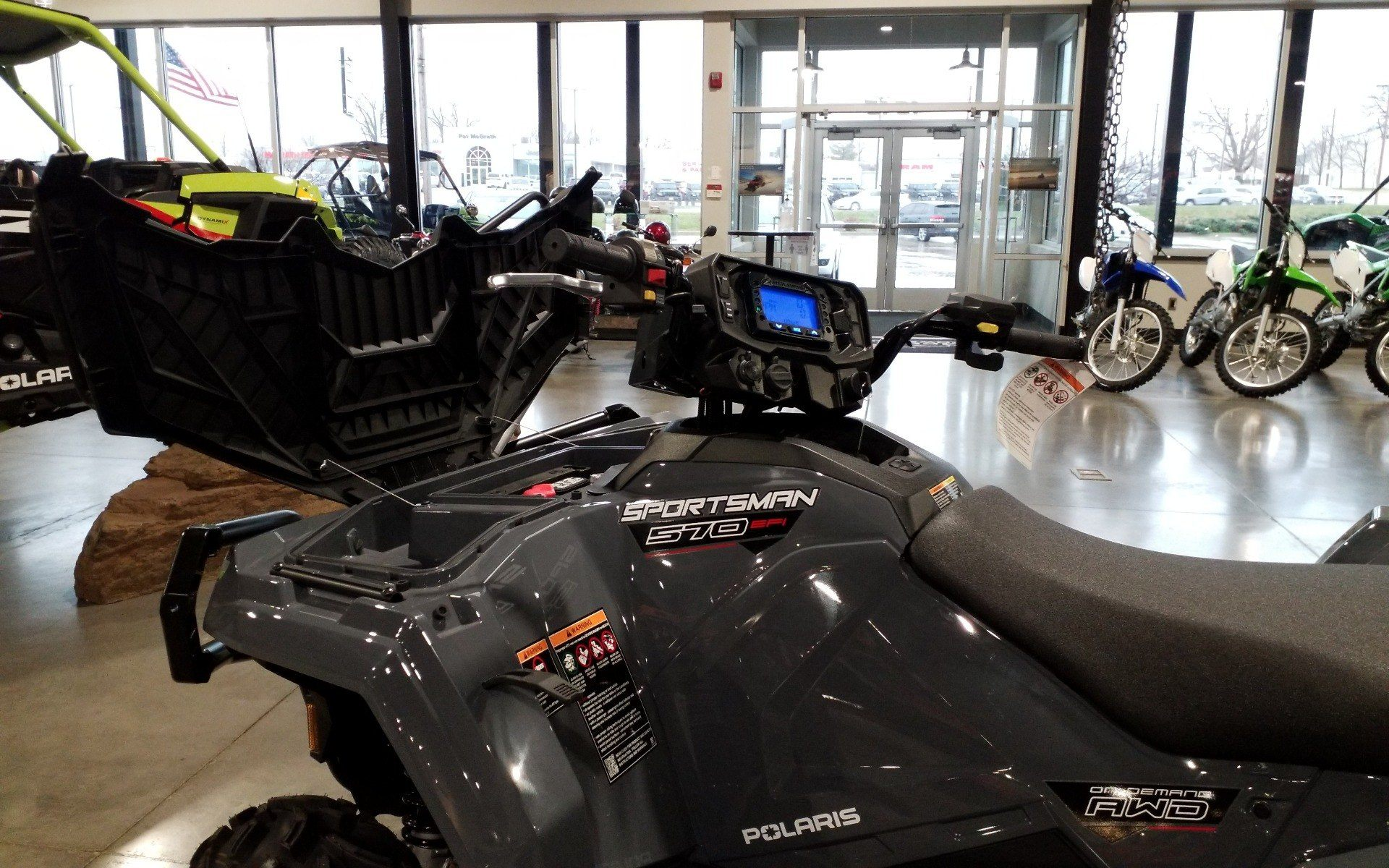 2021 Polaris Sportsman 570 Utility HD Limited Edition in Cedar Rapids, Iowa - Photo 5