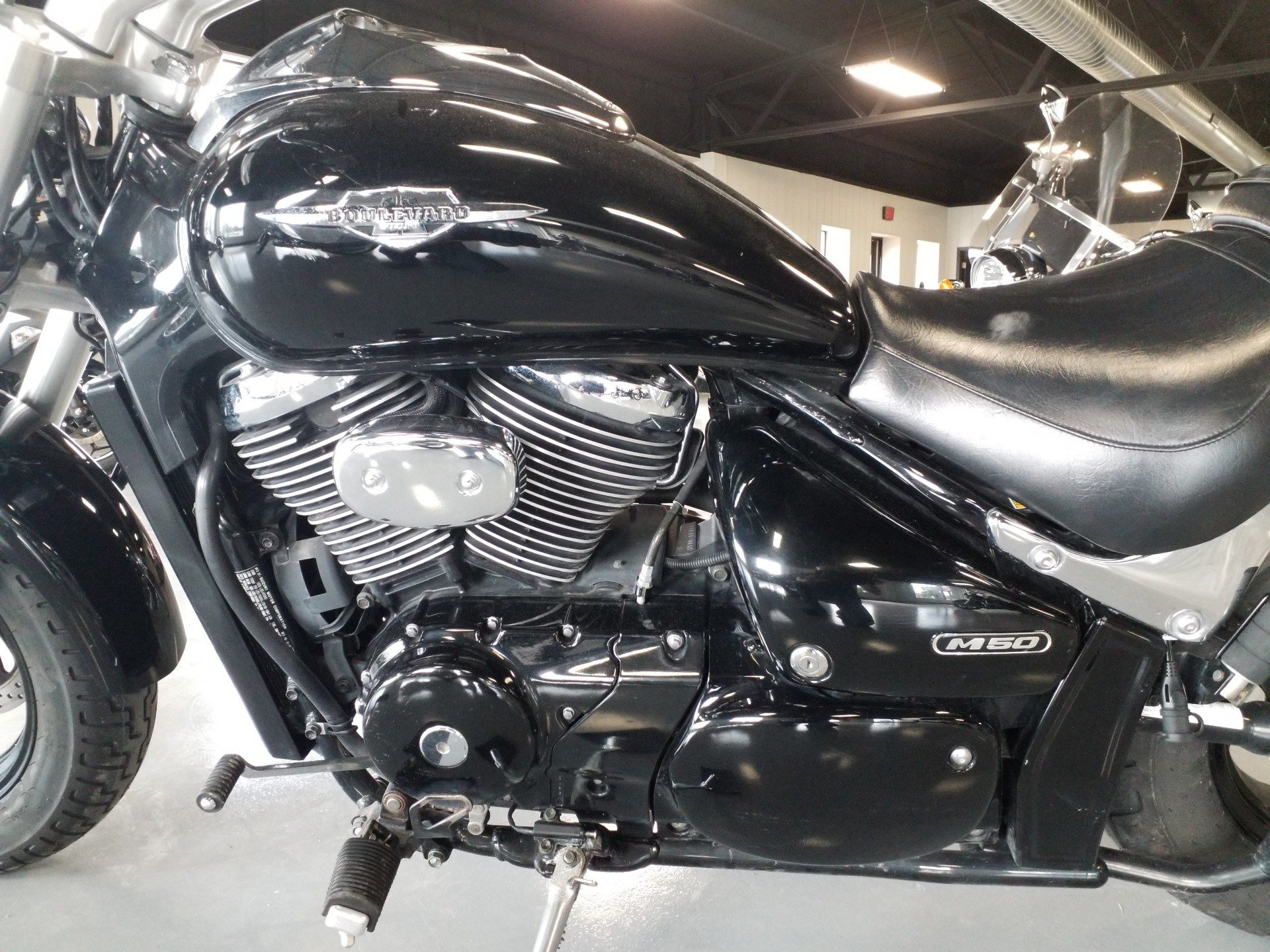 2005 Suzuki Boulevard M50 Black in Cedar Rapids, Iowa - Photo 5