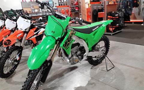 2021 Kawasaki KX 450X in Cedar Rapids, Iowa - Photo 2