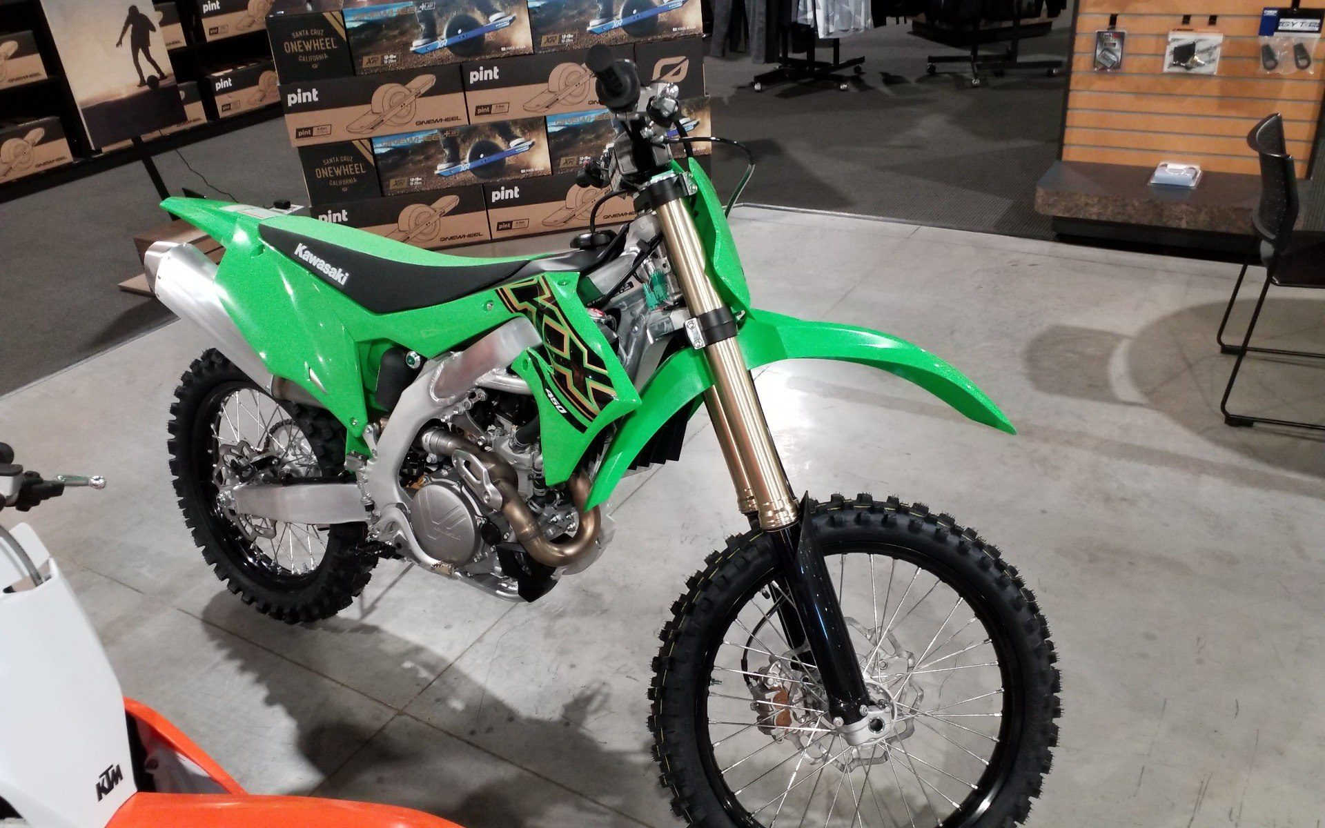 2021 Kawasaki KX 450X in Cedar Rapids, Iowa - Photo 4