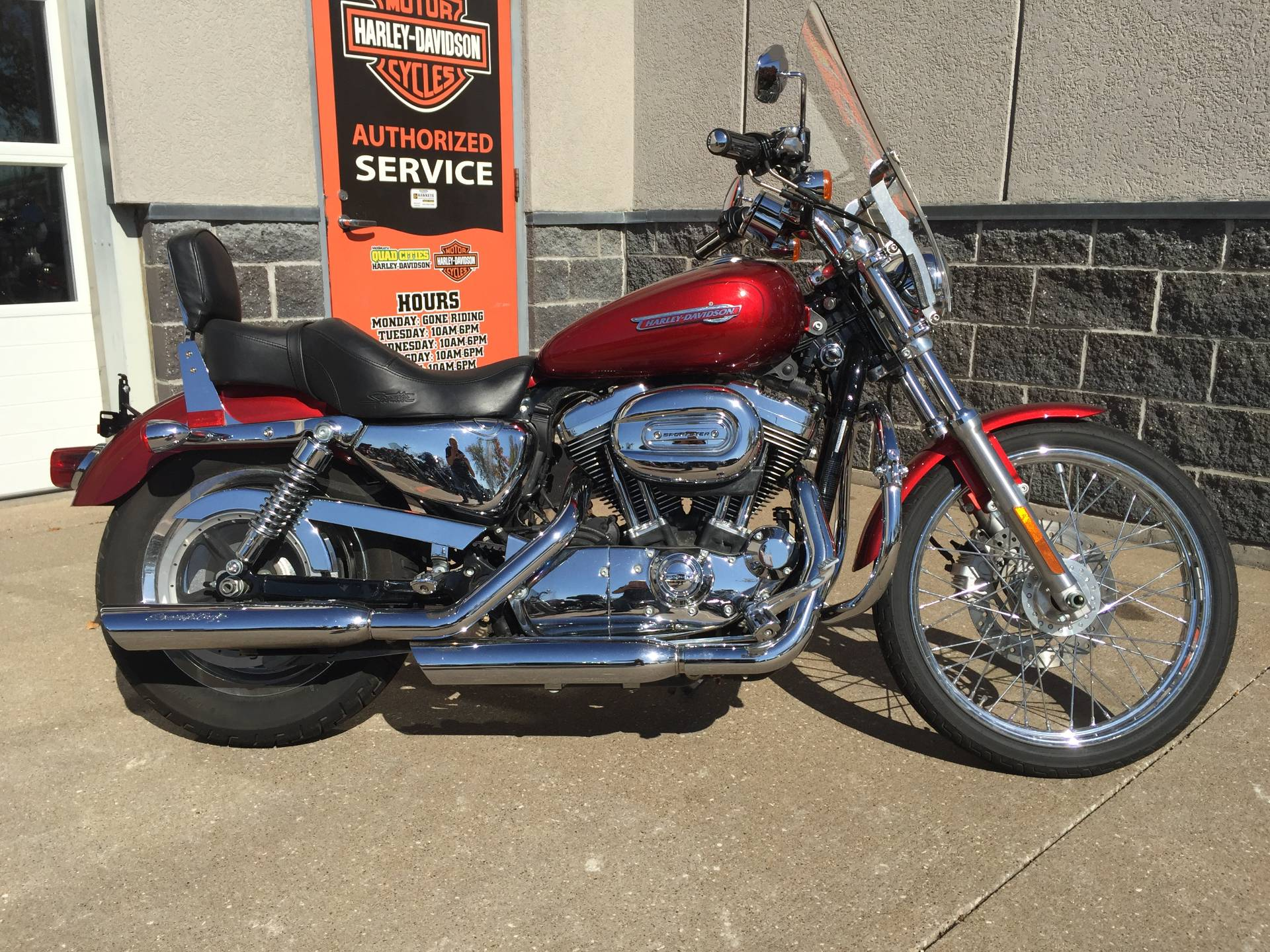 2008 Harley-Davidson XL1200C in Davenport, Iowa - Photo 1