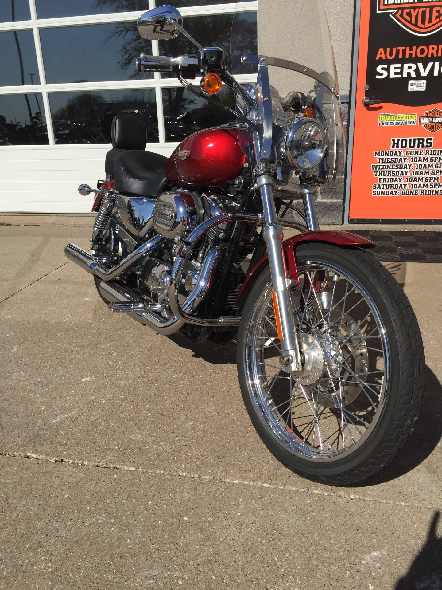 2008 Harley-Davidson XL1200C in Davenport, Iowa - Photo 2