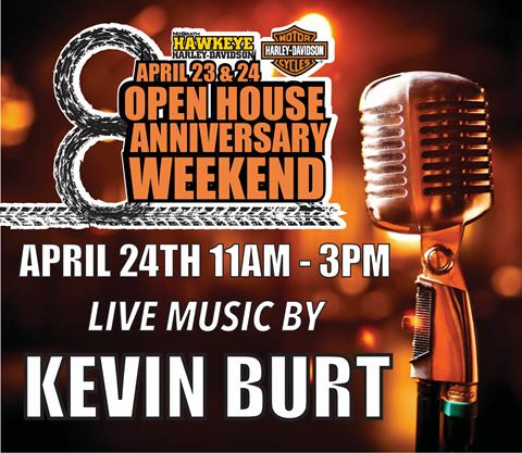 LIVE MUSIC BY KEVIN BURT