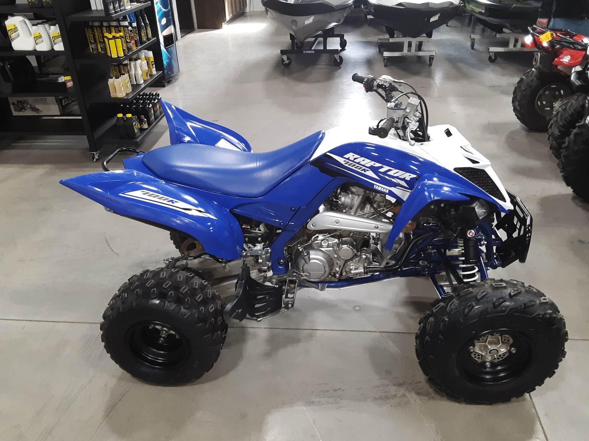 2018 Yamaha Raptor 700R 2