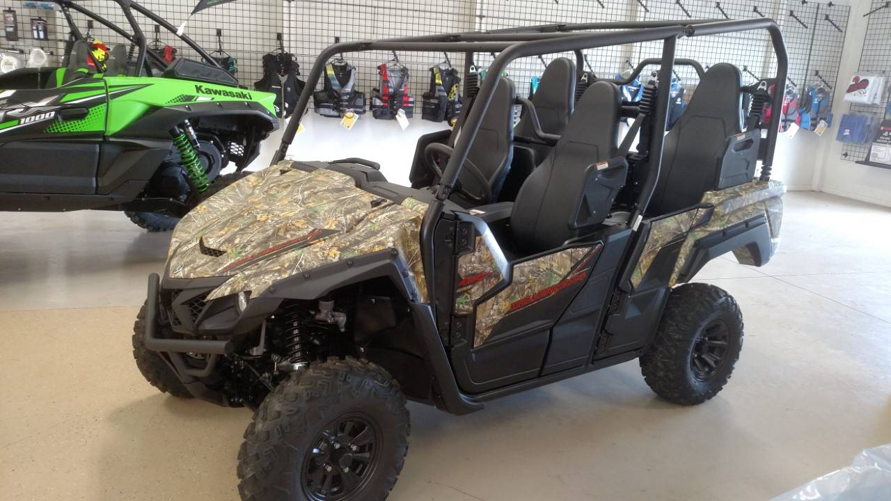 2020 Yamaha Wolverine X4 850 in Huron, Ohio - Photo 3