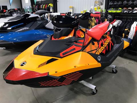 2019 Sea-Doo Spark Trixx 3up iBR + Sound System in Huron, Ohio - Photo 1
