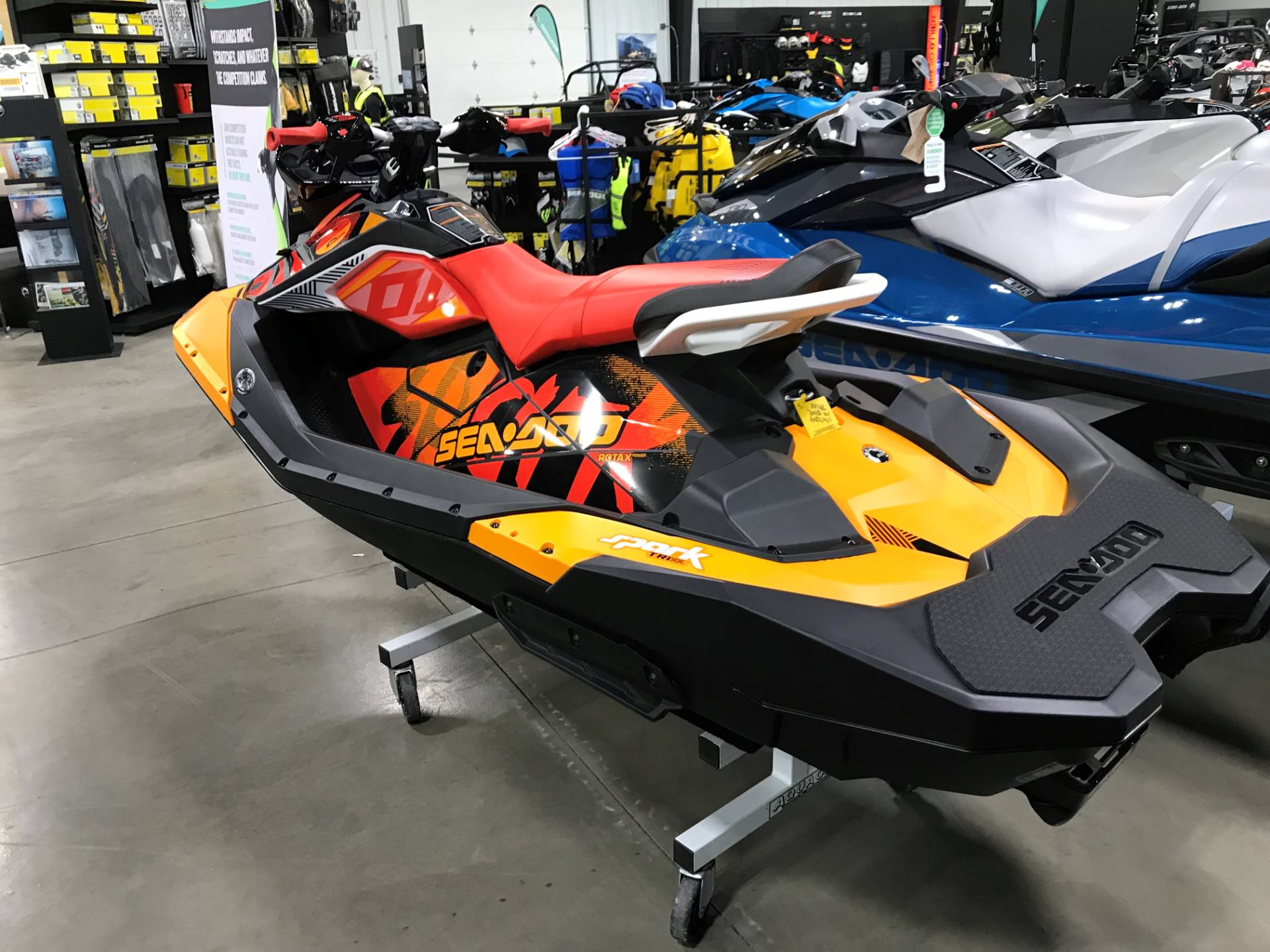 2019 Sea-Doo Spark Trixx 3up iBR + Sound System in Huron, Ohio - Photo 3