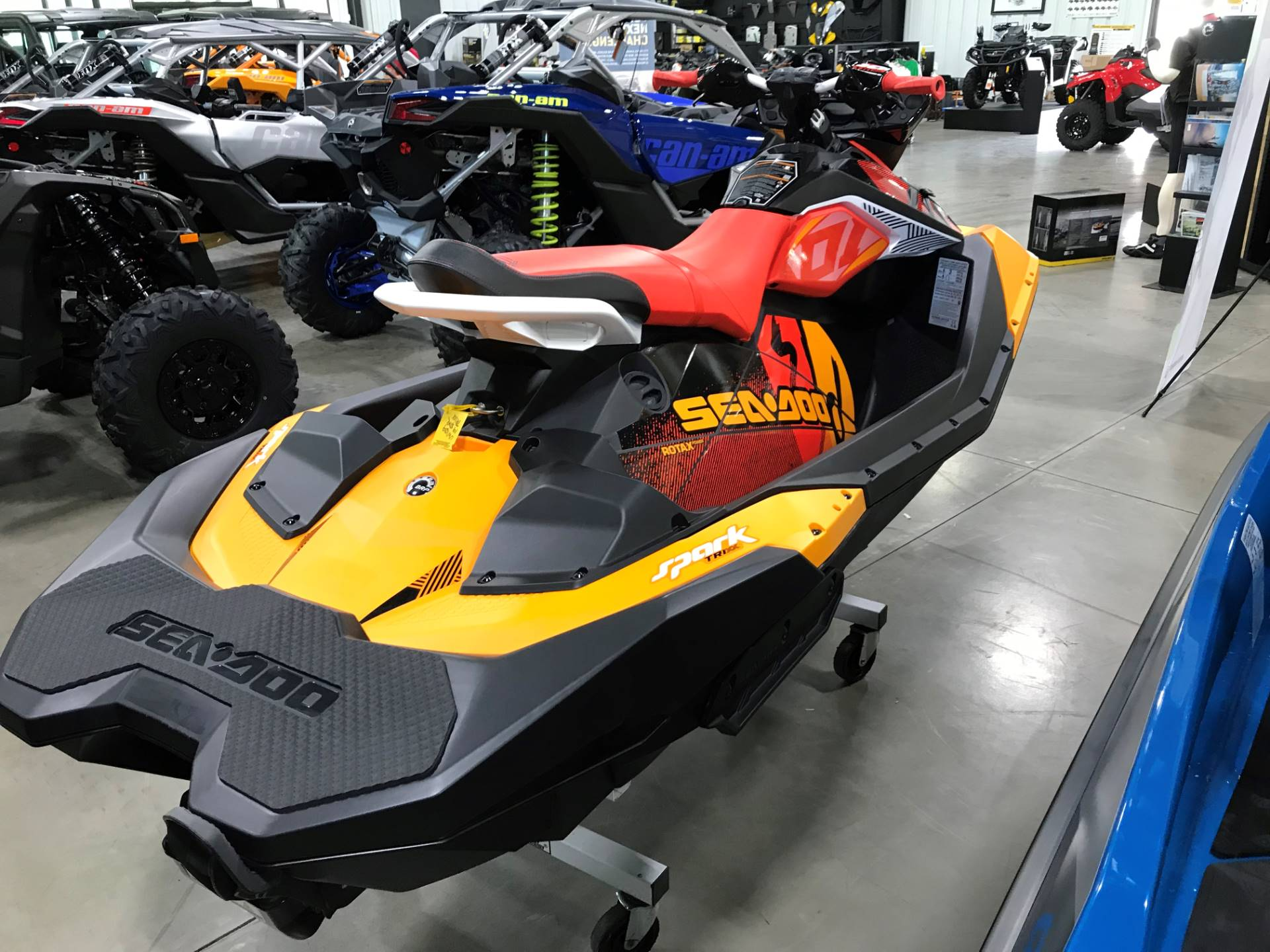 2019 Sea-Doo Spark Trixx 3up iBR + Sound System in Huron, Ohio - Photo 4
