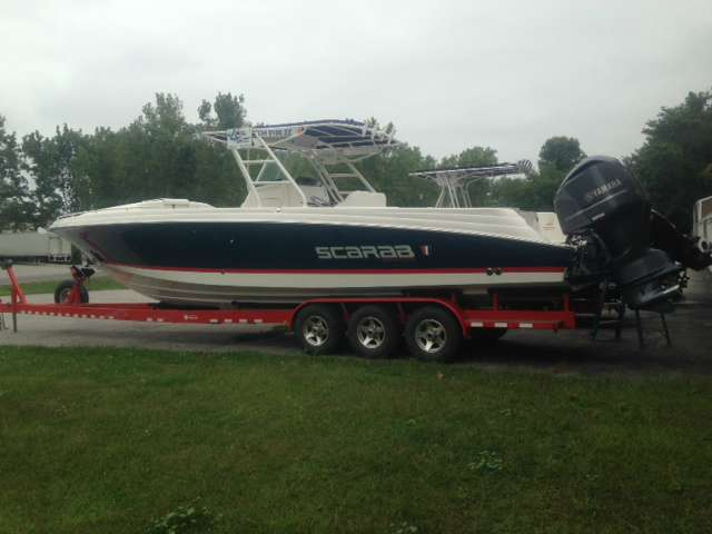 2015 Wellcraft 35 Scarab Offshore Sport in Huron, Ohio