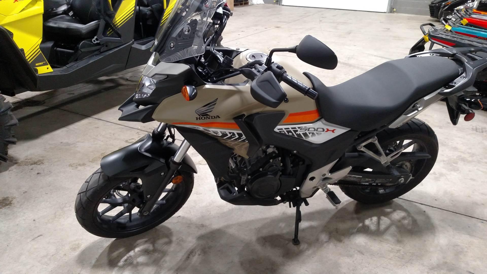 2016 CB500X ABS