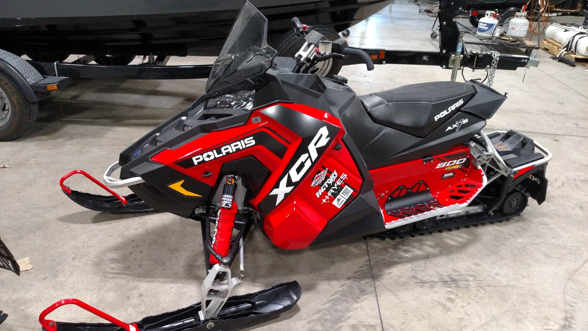 2017 Polaris 800 RUSH XCR in Huron, Ohio