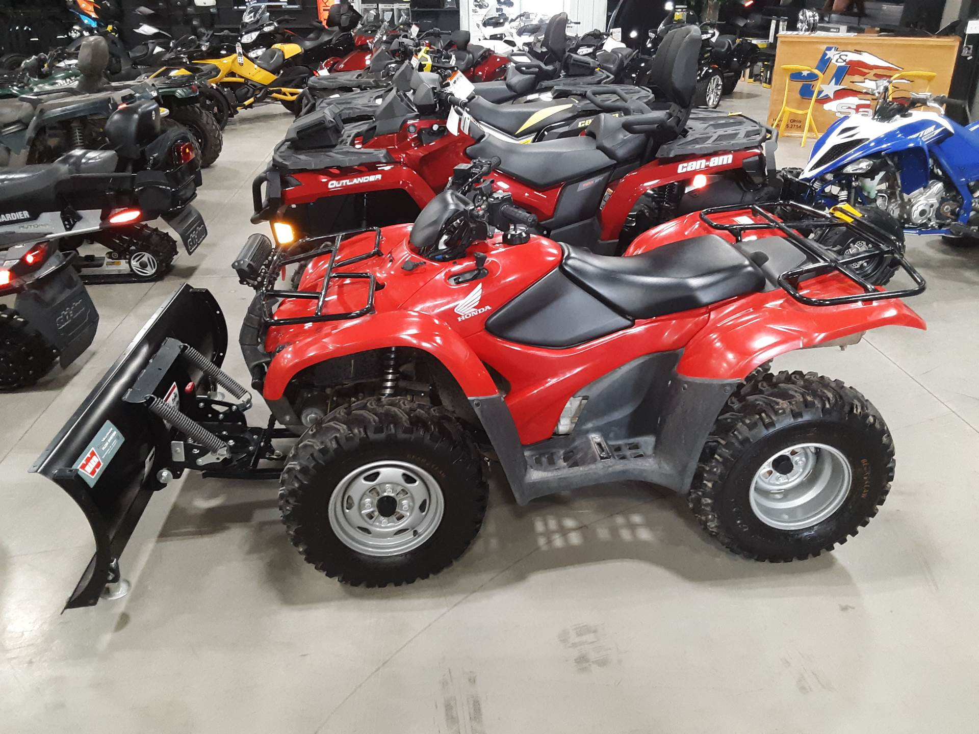 2008 FourTrax Rancher 4x4 ES