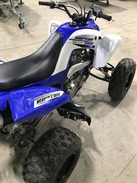 2016 Yamaha Raptor 700 In Huron Ohio Photo 1