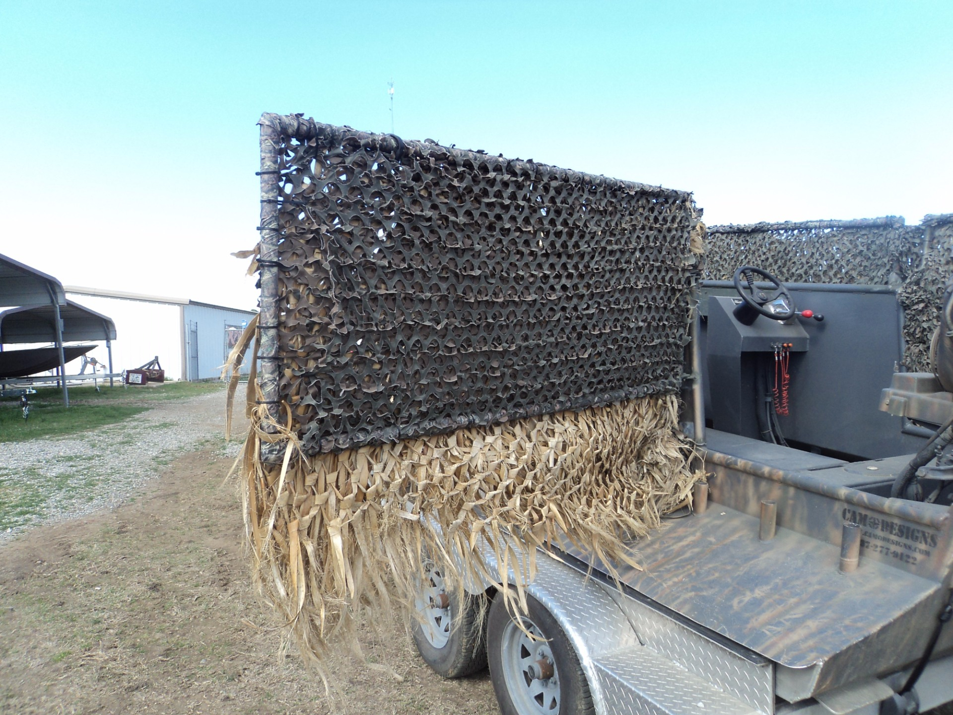 2012 Silver Dollar SILVER DOLLAR DUCK BLIND in Mead, Oklahoma