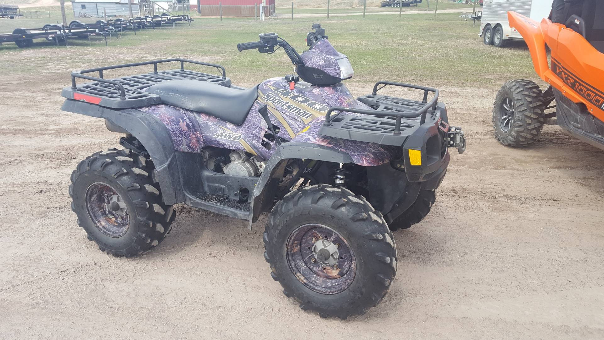 2004 Polaris Sportsman 400 in Philipsburg, Montana - Photo 1