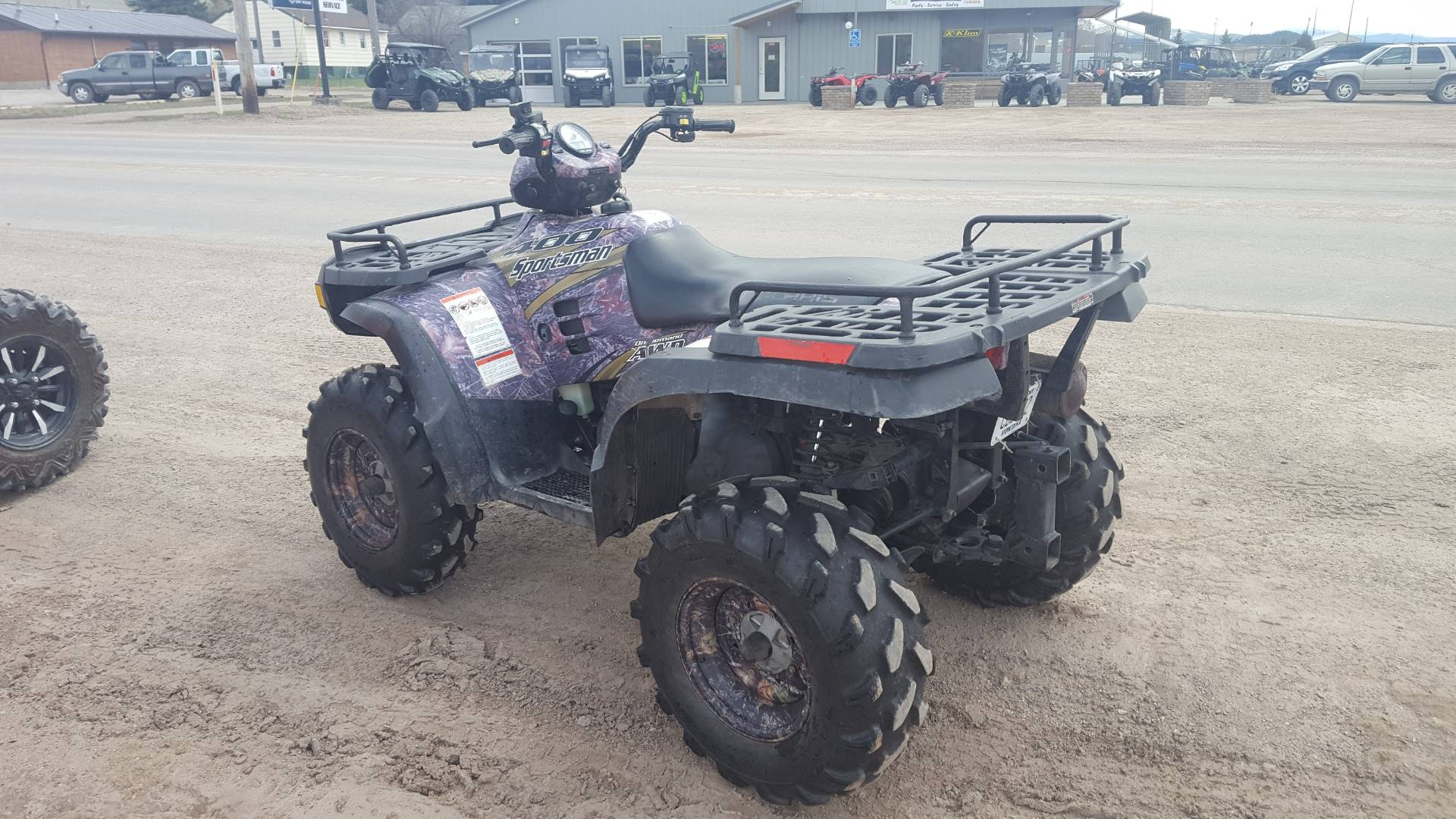 2004 Polaris Sportsman 400 in Philipsburg, Montana - Photo 2