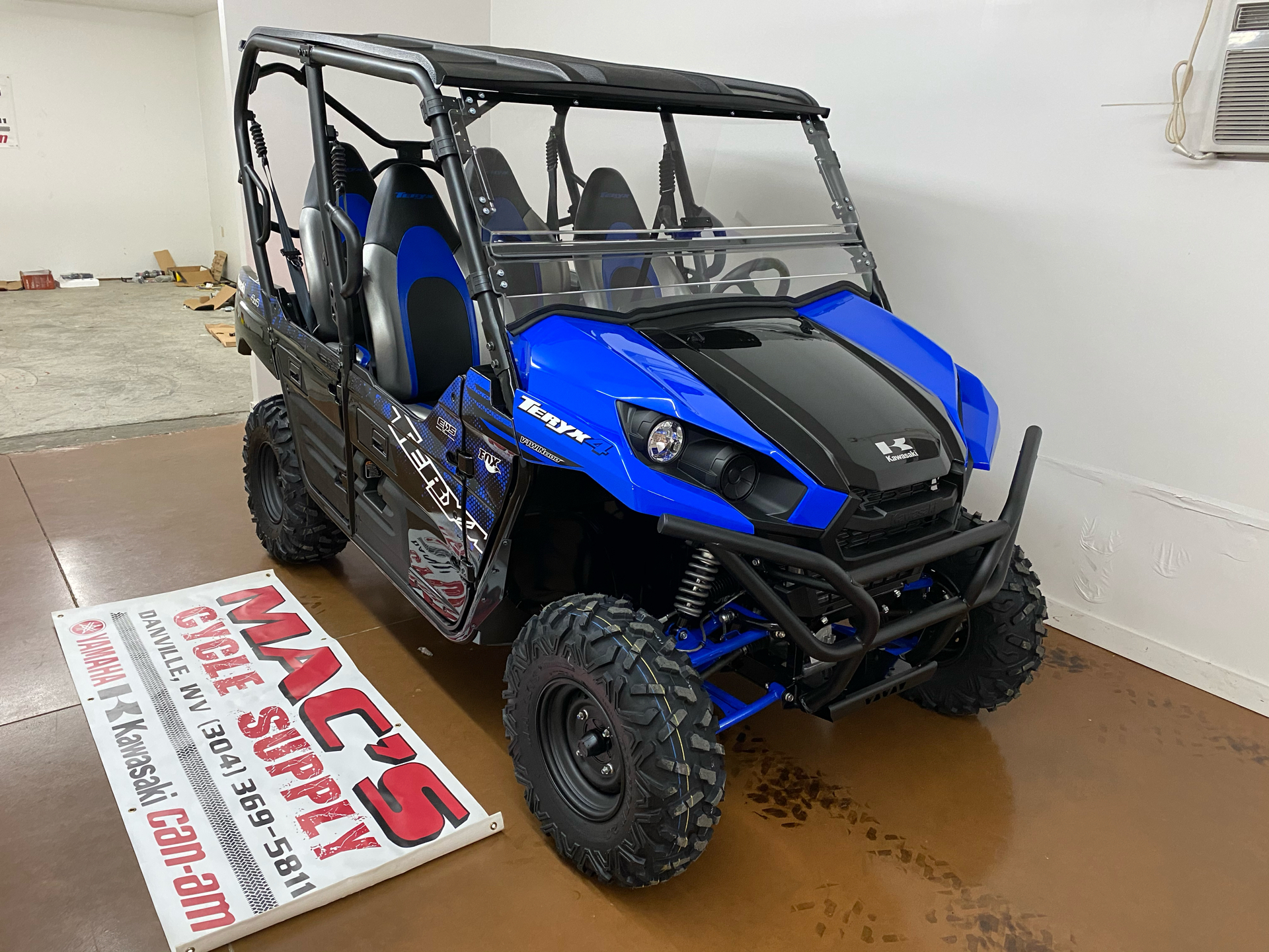 2021 Kawasaki Teryx4 in Danville, West Virginia - Photo 6