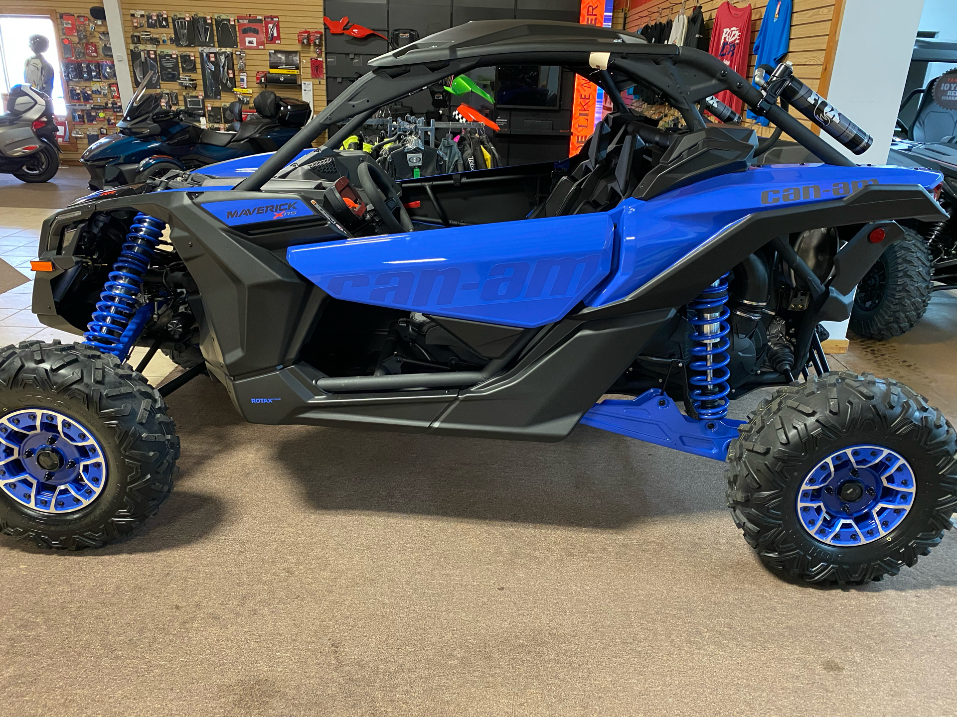 2021 Can-Am Maverick X3 X RS Turbo RR in Danville, West Virginia - Photo 1
