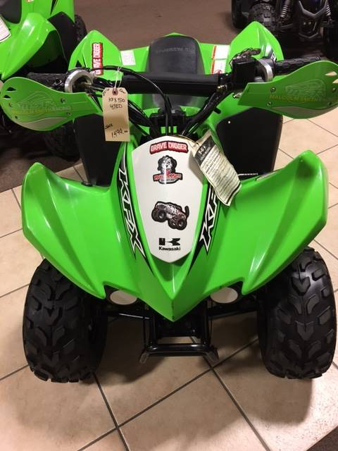 2016 Kawasaki KFX50 in Danville, West Virginia