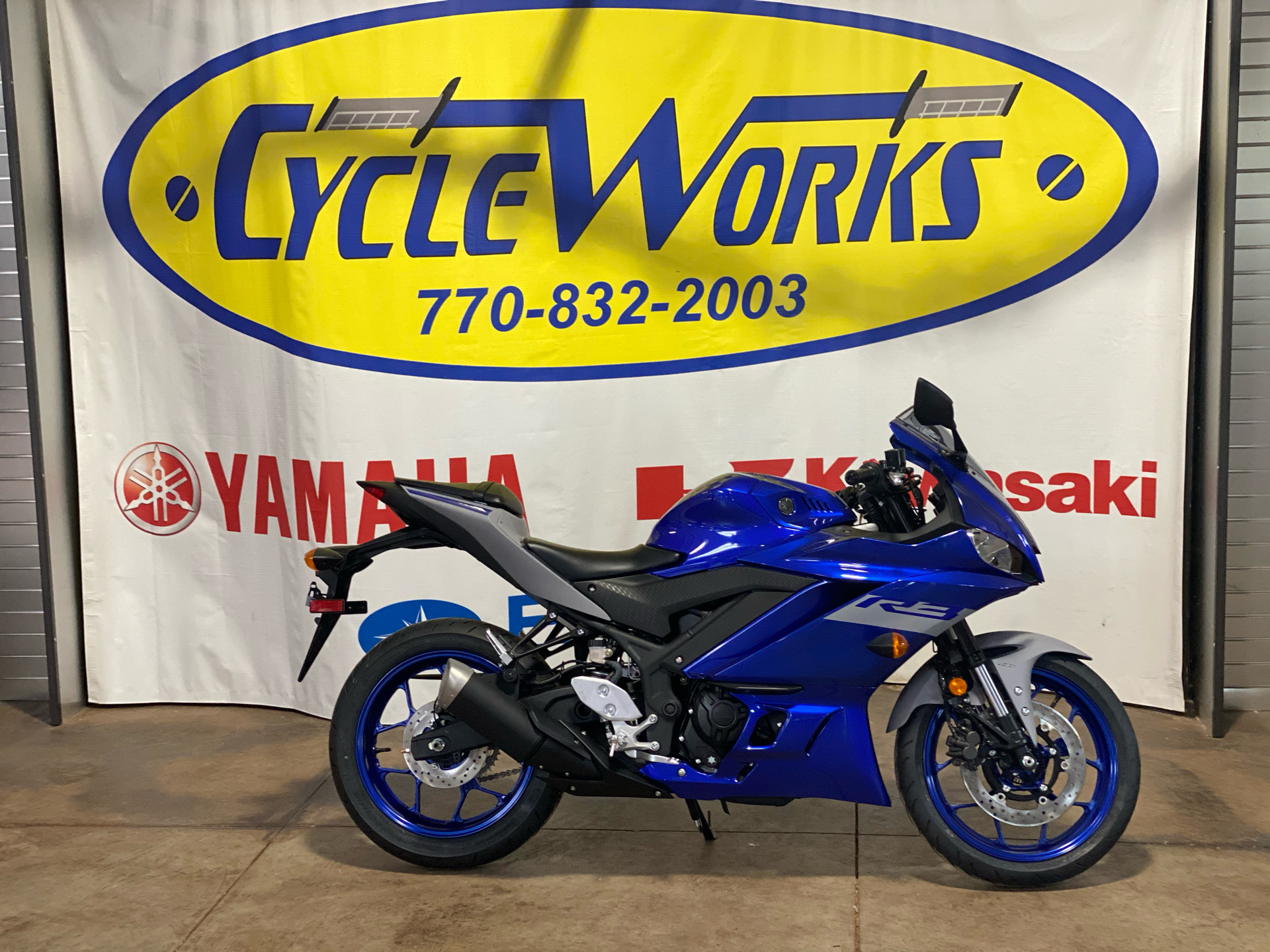 2021 Yamaha YZF-R3 ABS in Roopville, Georgia - Photo 1