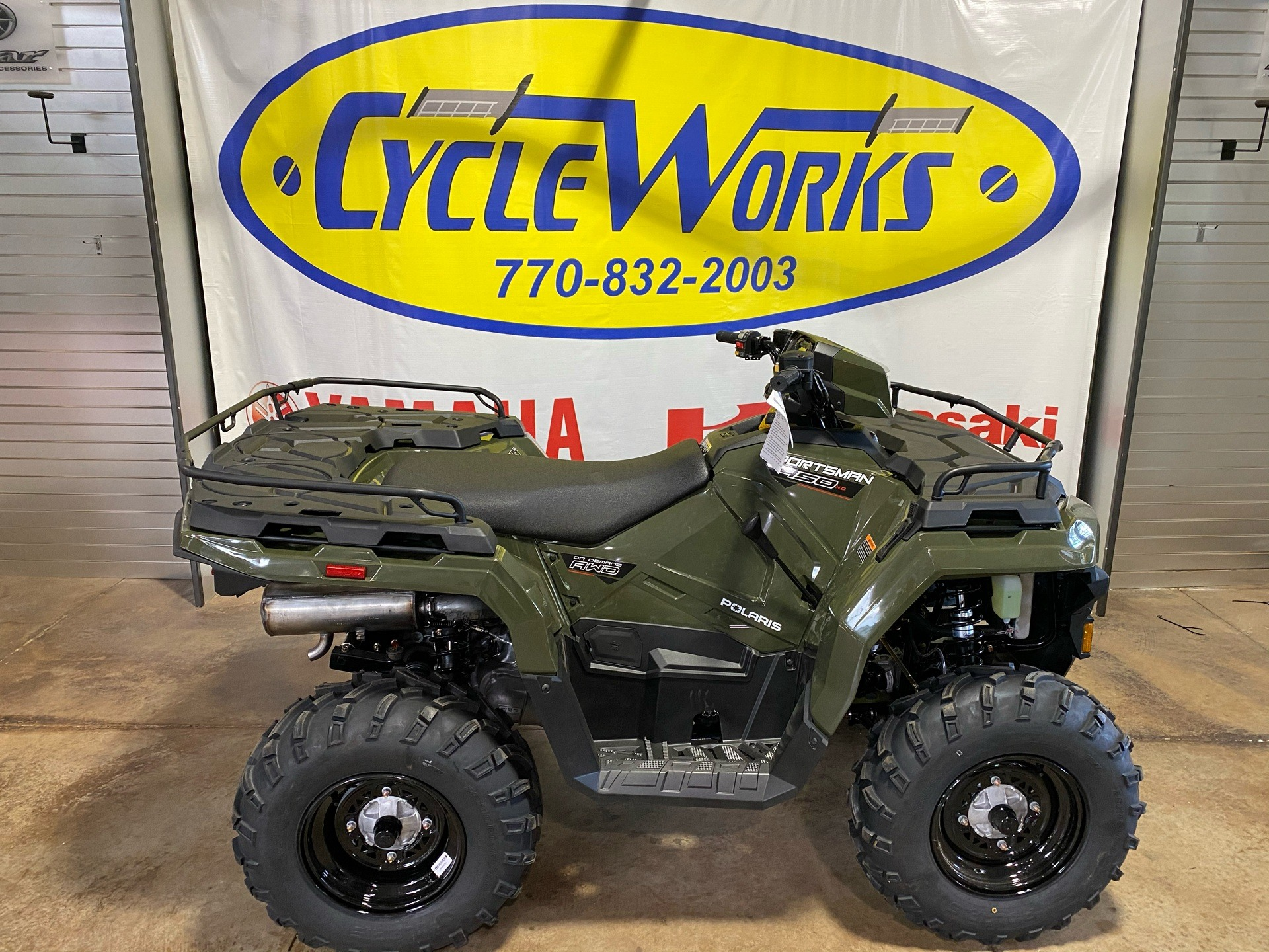 2021 Polaris Sportsman 450 H.O. EPS in Roopville, Georgia - Photo 1