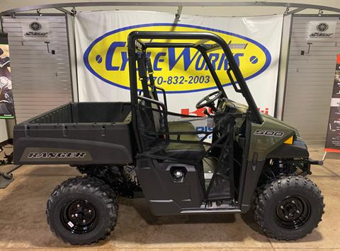 2021 Polaris Ranger 500 in Roopville, Georgia - Photo 1
