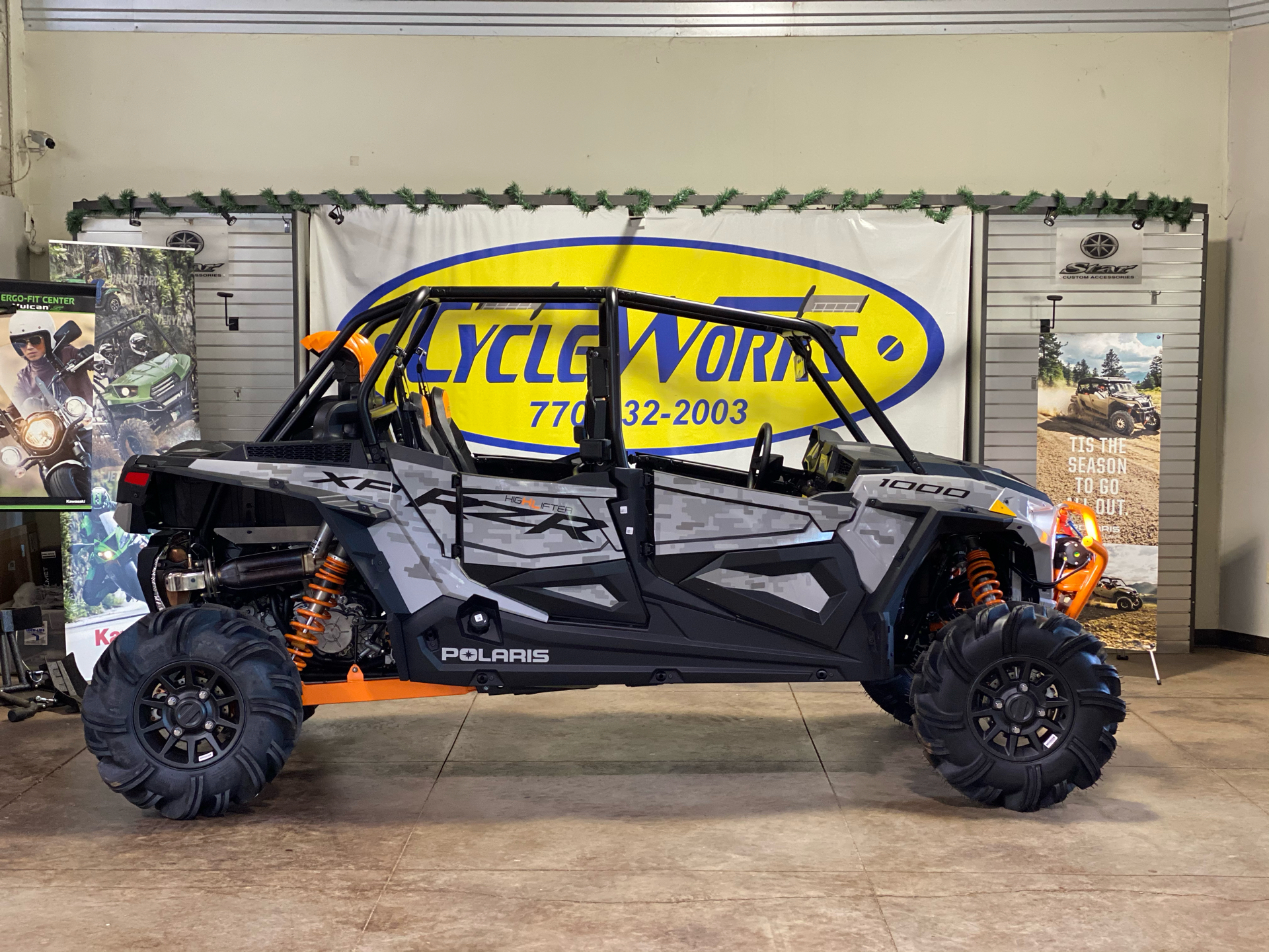 2021 Polaris RZR XP 4 1000 High Lifter in Roopville, Georgia - Photo 1