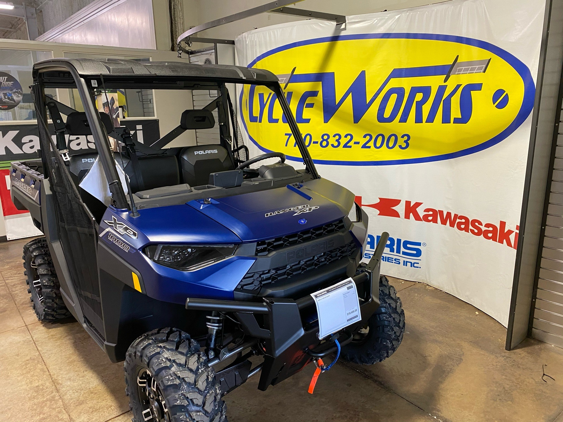 2021 Polaris Ranger XP 1000 Premium + Ride Command Package in Roopville, Georgia - Photo 2