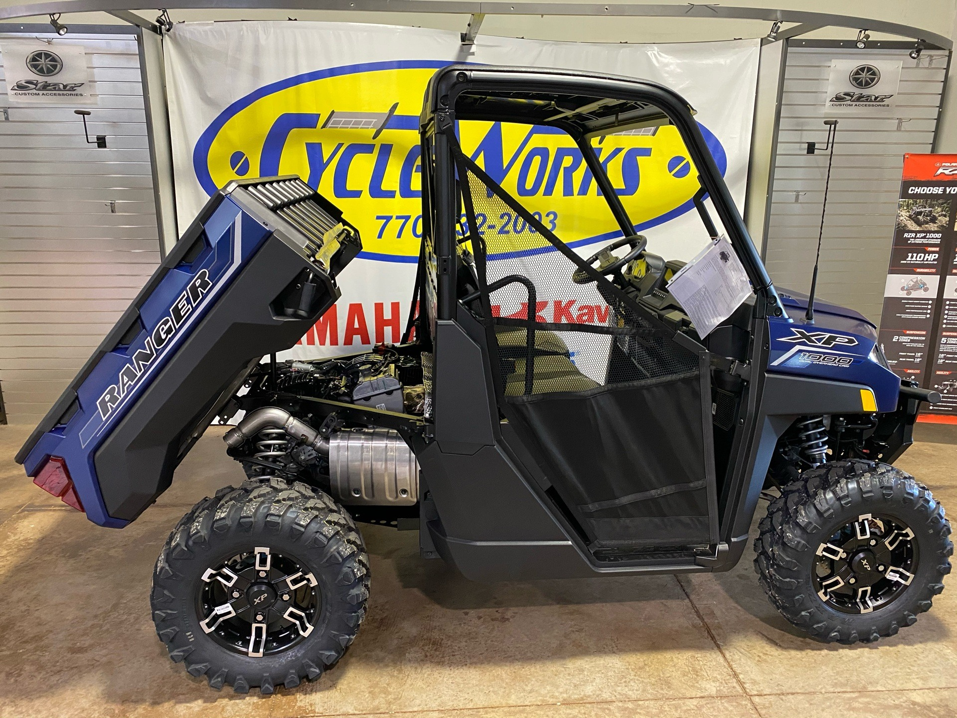 2021 Polaris Ranger XP 1000 Premium + Ride Command Package in Roopville, Georgia - Photo 3