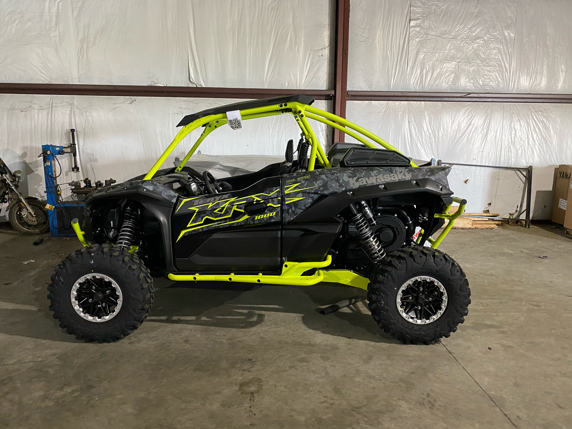 2021 Kawasaki Teryx KRX 1000 Trail Edition in Roopville, Georgia - Photo 2