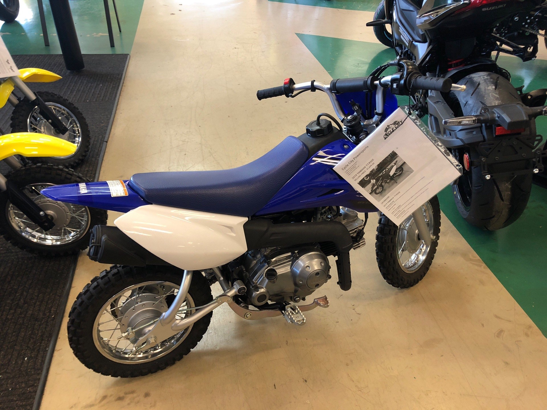 2019 Yamaha TT-R50E in Newnan, Georgia - Photo 2