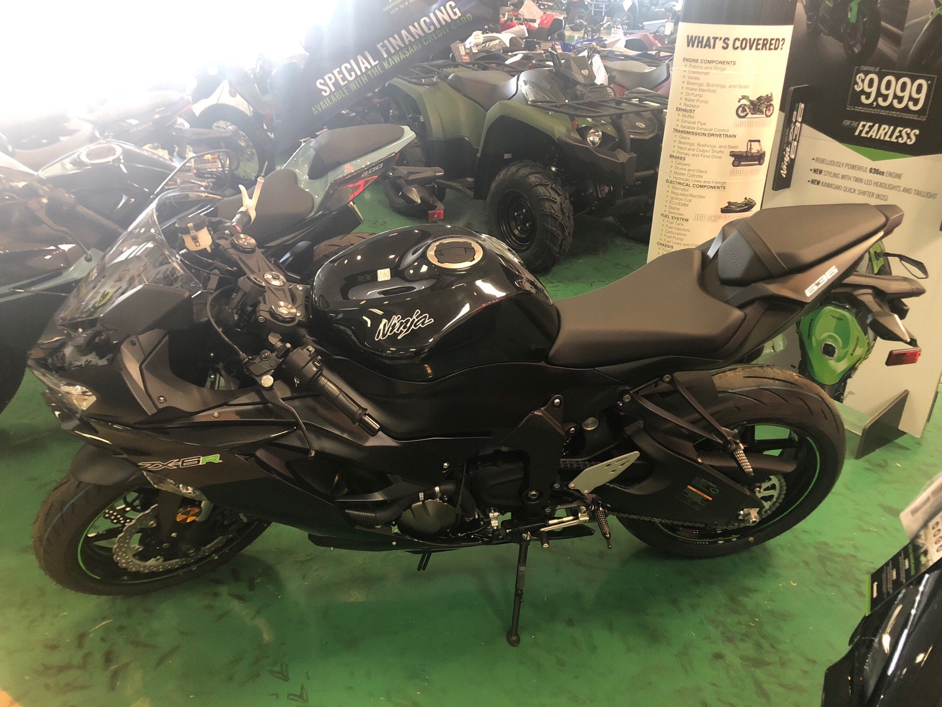 2019 Kawasaki NINJA ZX-6R in Newnan, Georgia - Photo 1