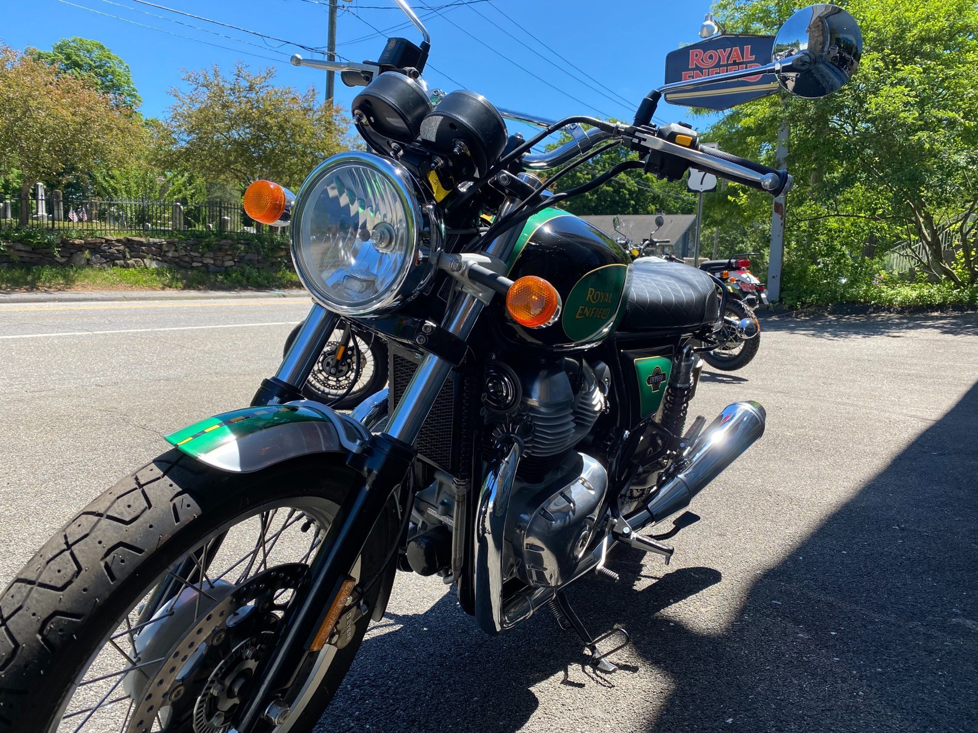 2019 Royal Enfield INT 650 in Kent, Connecticut - Photo 4