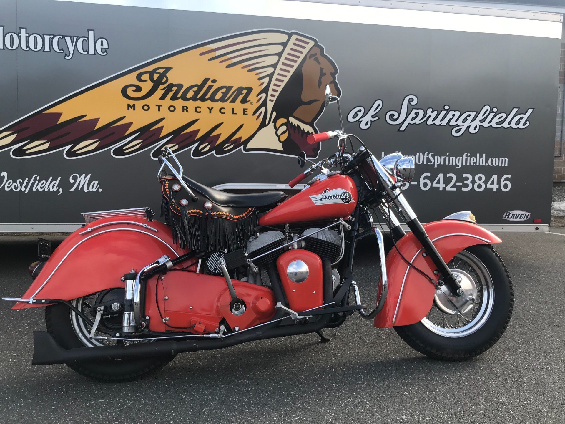 1953 Indian Chief in Westfield, Massachusetts - Photo 1