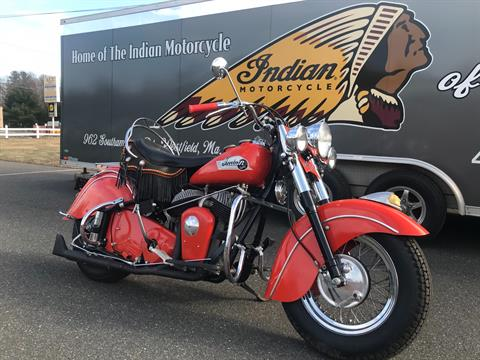1953 Indian Chief in Westfield, Massachusetts