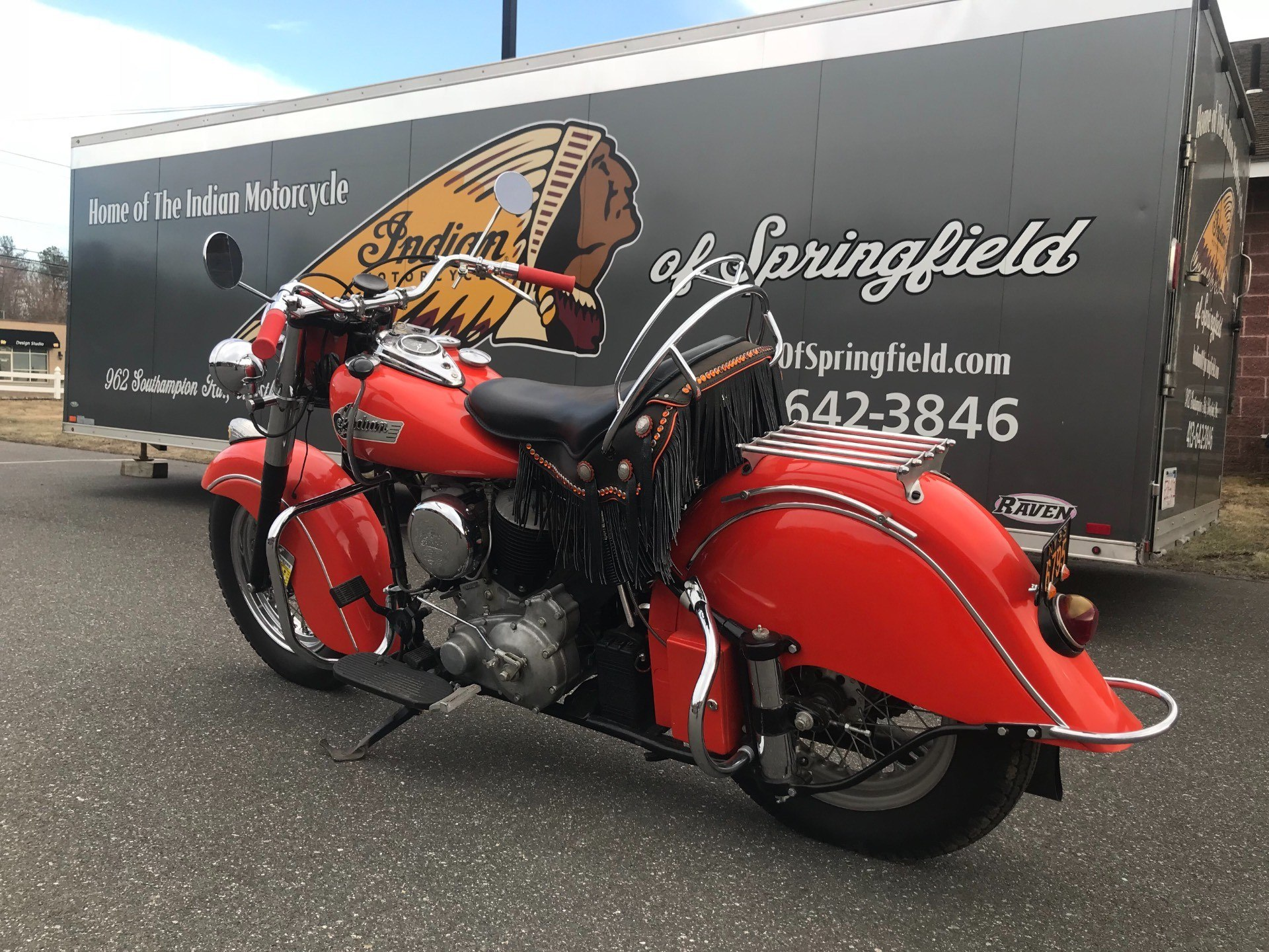 1953 Indian Chief in Westfield, Massachusetts - Photo 7