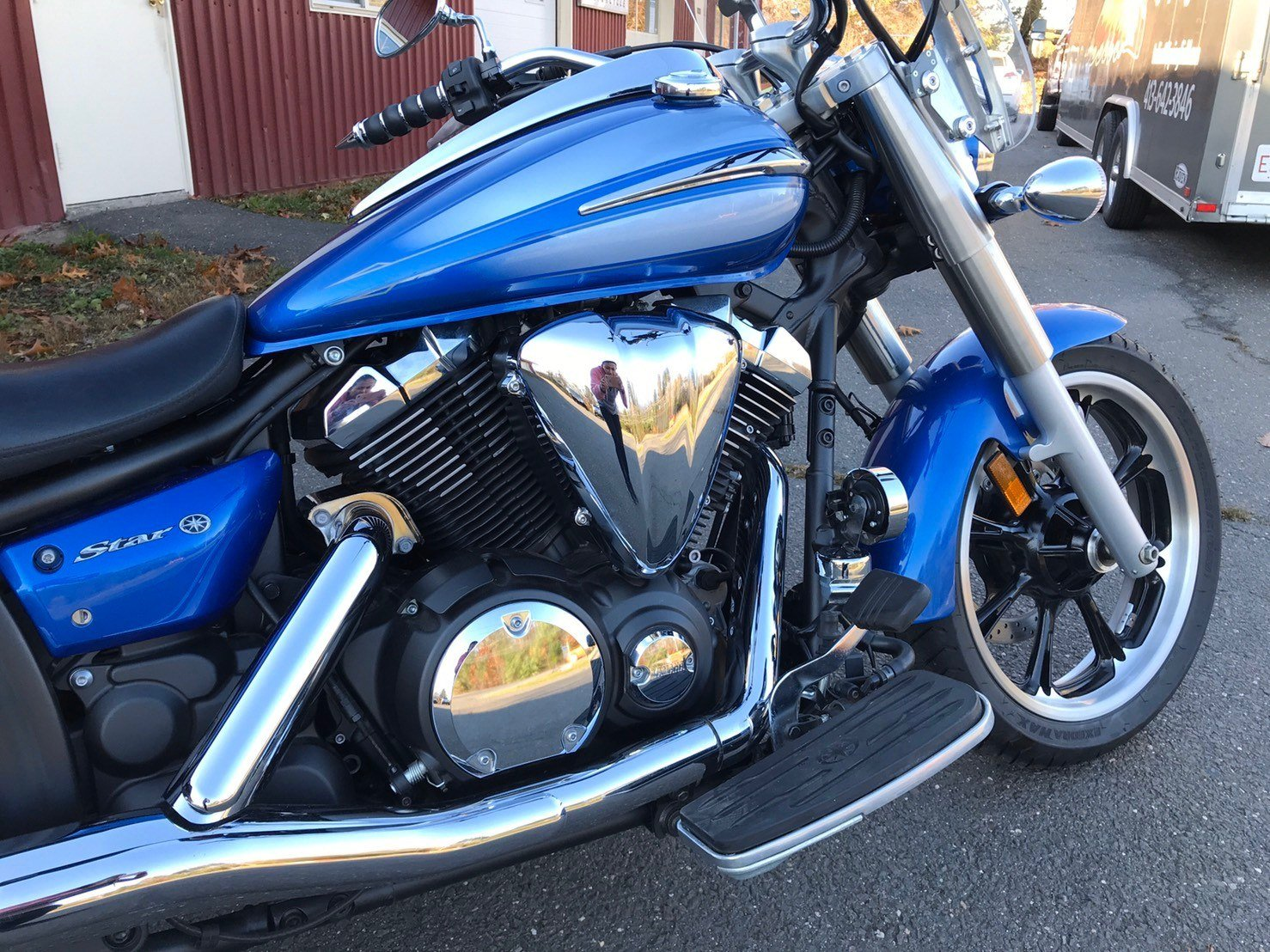2009 Yamaha V Star 950 in Westfield, Massachusetts - Photo 13