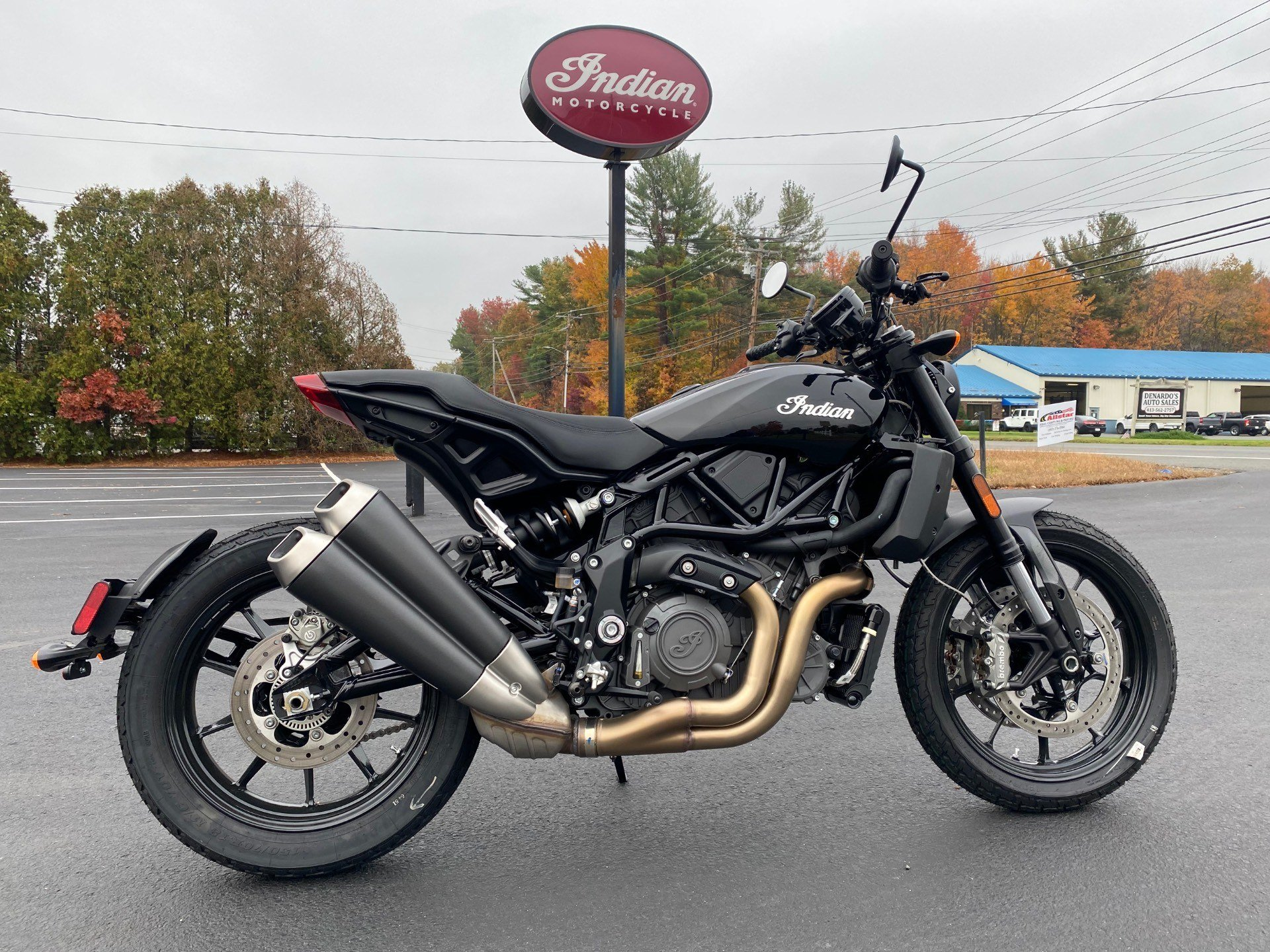 2019 Indian FTR™ 1200 in Westfield, Massachusetts - Photo 1