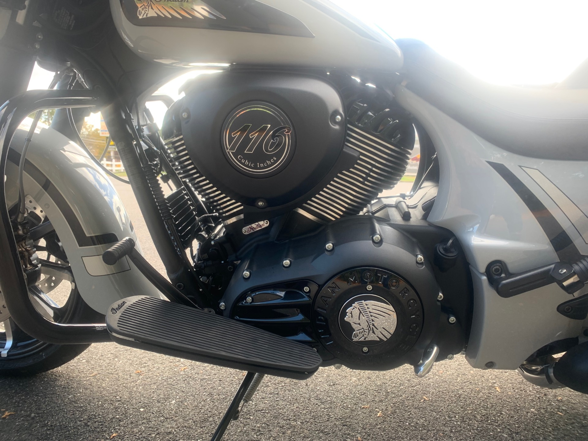 2020 Indian Chieftain® Dark Horse® Icon Series in Westfield, Massachusetts - Photo 4