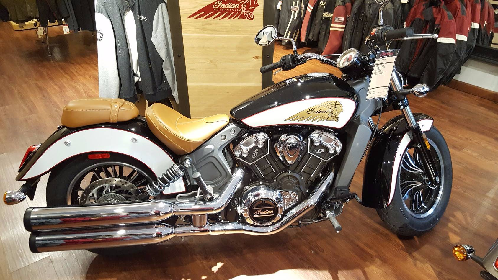 2018 Indian Scout® ABS Icon Series in Westfield, Massachusetts