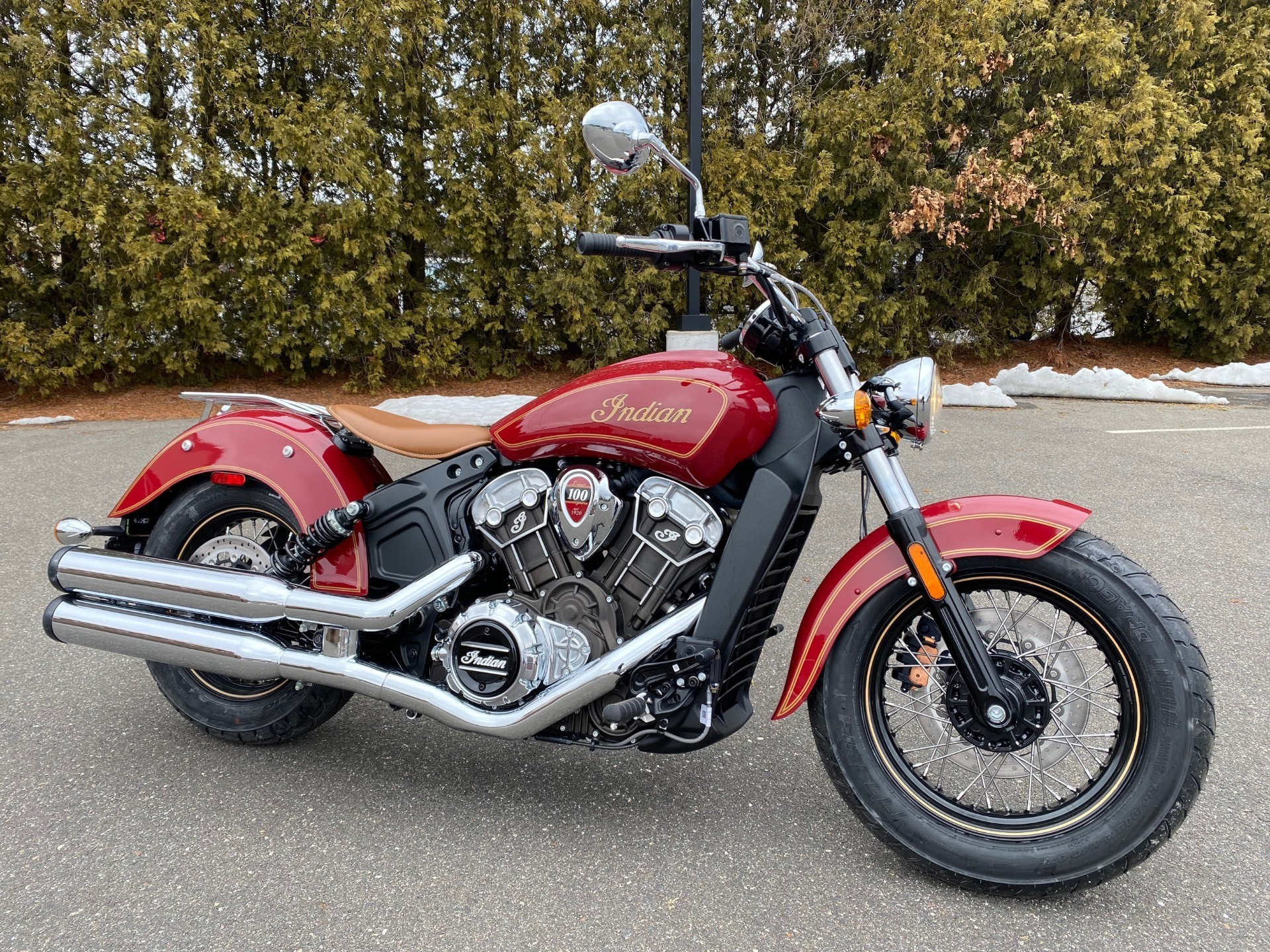 2020 Indian Scout® 100th Anniversary in Westfield, Massachusetts - Photo 1